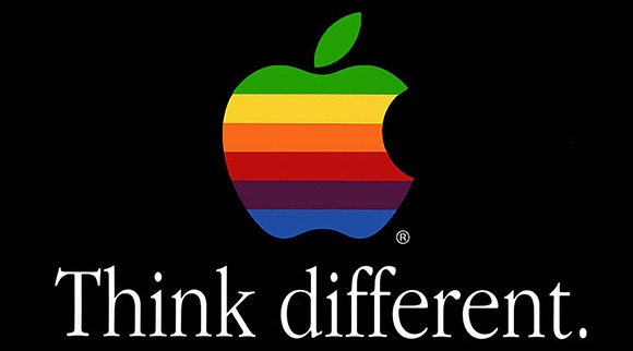 Think Different Apple Logo