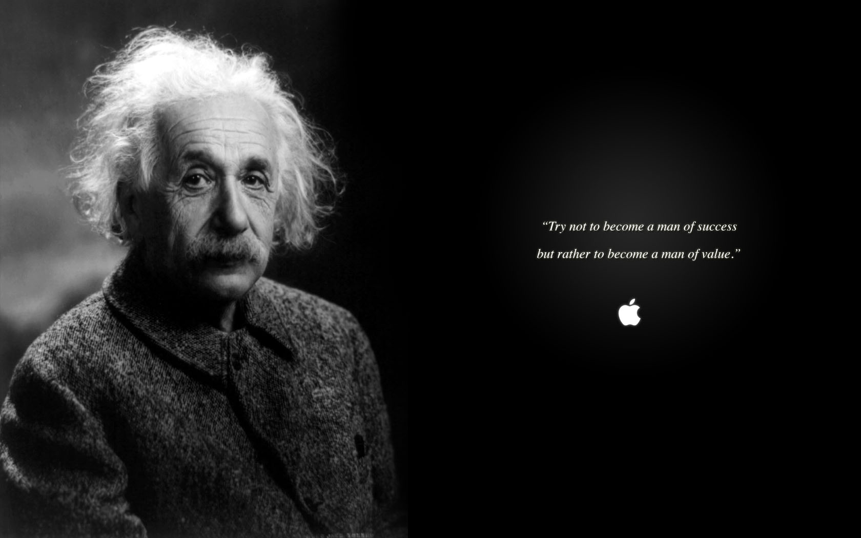 Apple Einstein!